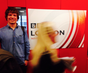 Andy at BBC London 94.9